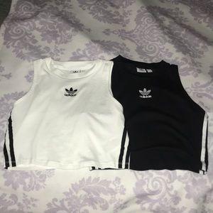Adidas crop top bundle